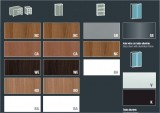 XTime Work - Materiály pro skříně  - Skleněný Nábytek X-Time Work s podnoží STOP